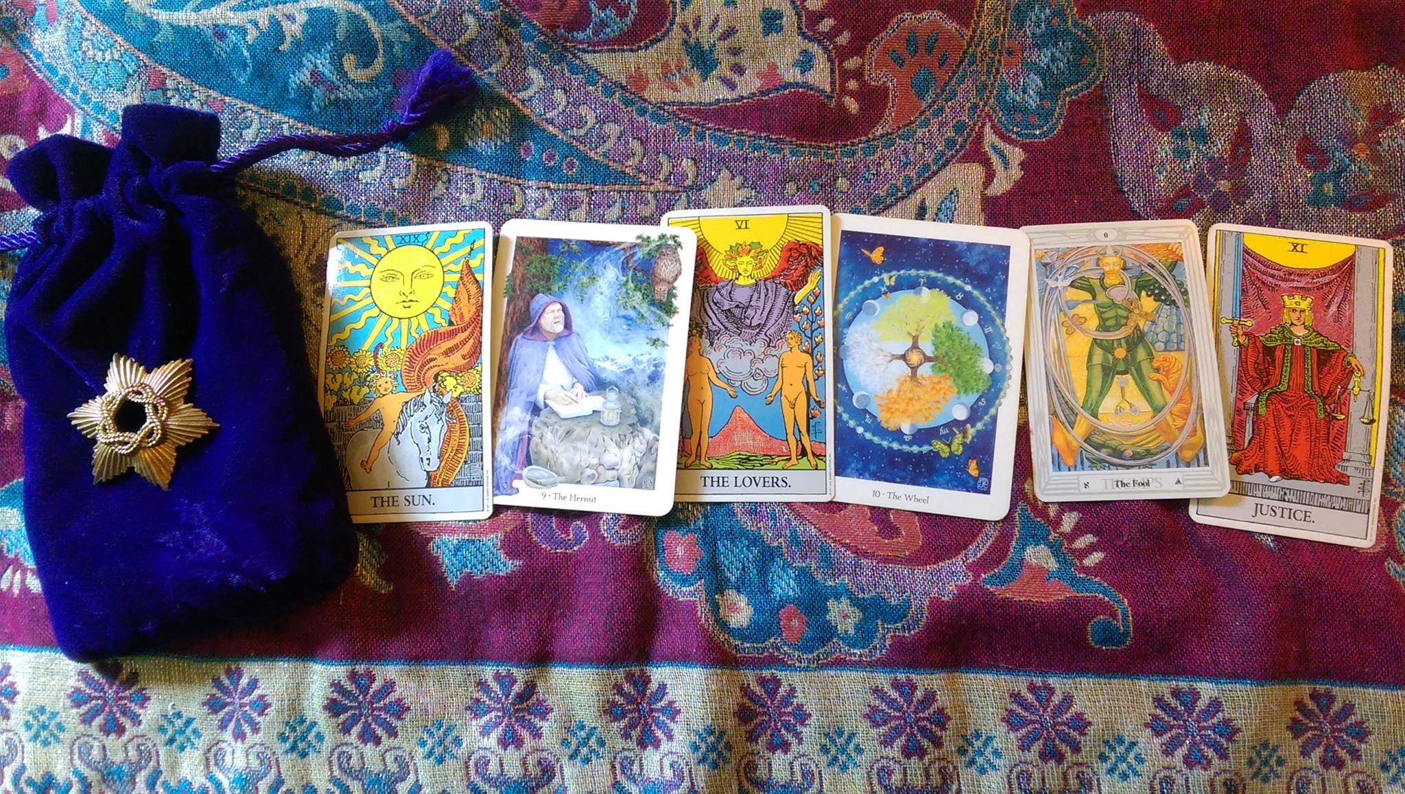 Tarot Blessings